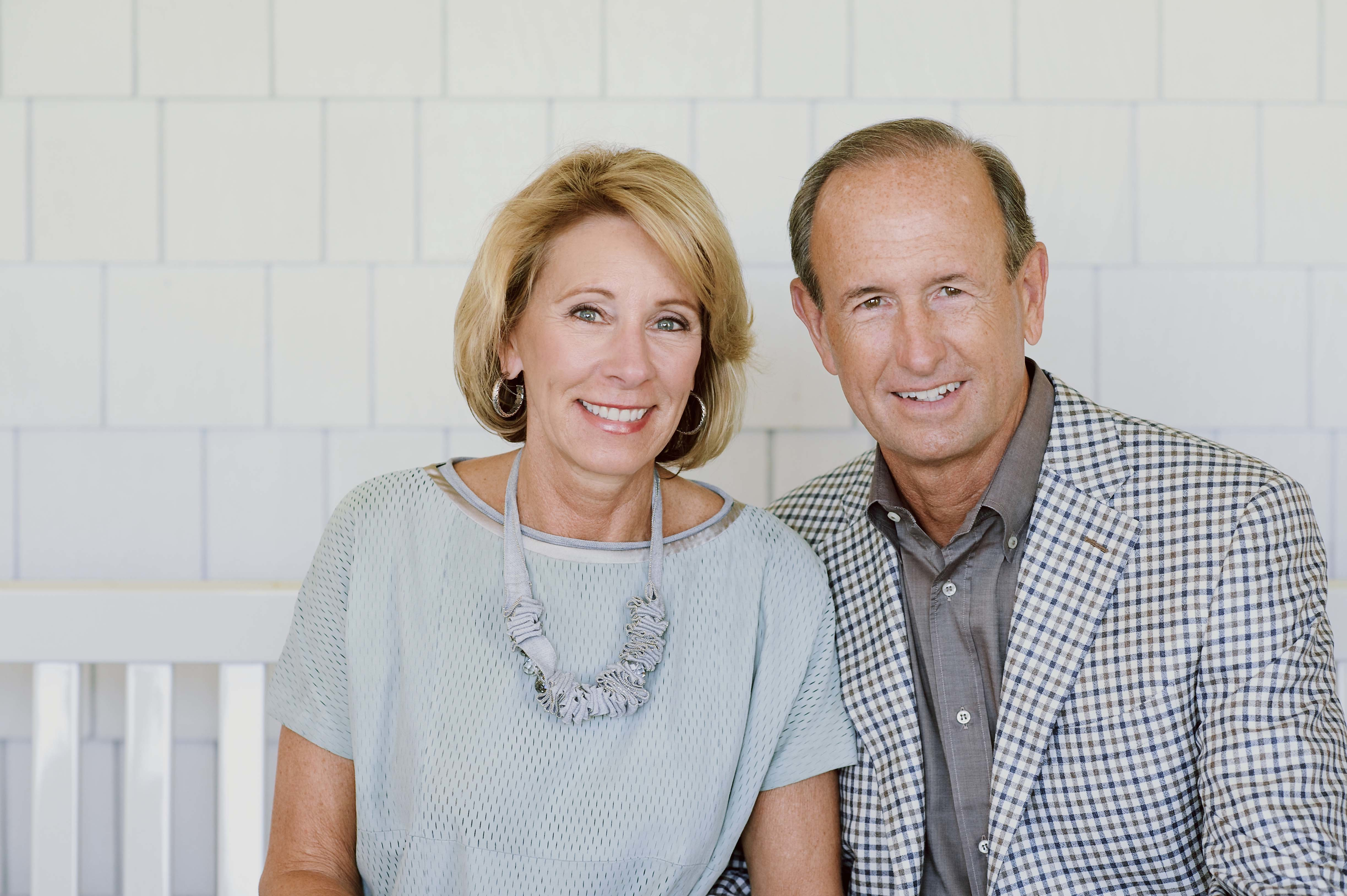 Dick And Betsy De Vos Together