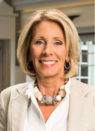 Betsy DeVos is a fighter and a winner